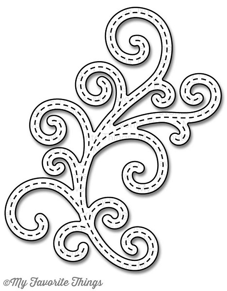 My Favorit Things - Die-namics - Die - Stitch Fancy Flourish