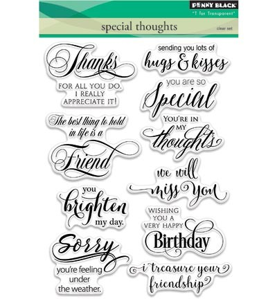Penny Black - Clearstamp - Special thoughts - 30-338