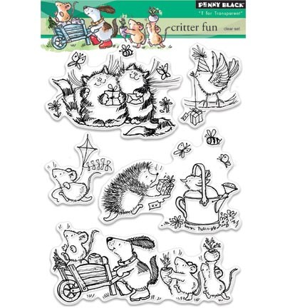 Penny Black - Clearstamp - Critter fun - 30-335
