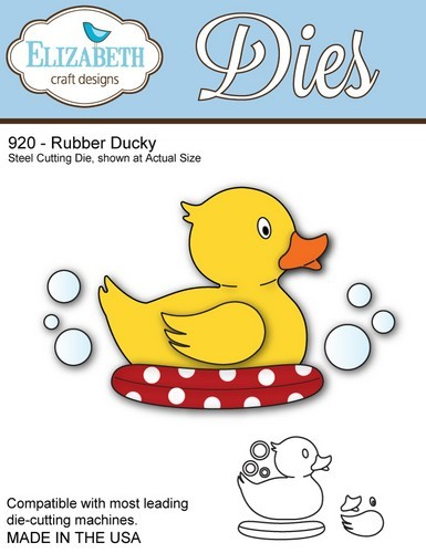 Elizabeth Craft - Die - Rubber Ducky - 920