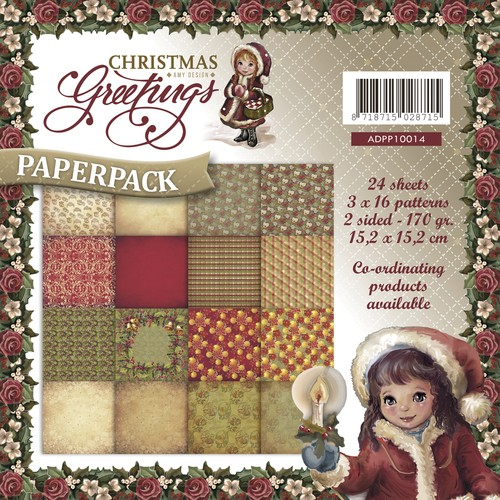 Amy Design - Paperpack - Christmas Greetings - ADPP10014