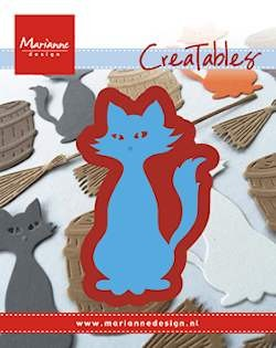 Marianne Design - Die - CreaTables - Kitty - LR0432
