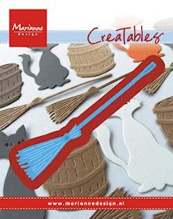 Marianne Design - Die - CreaTables - Broom - LR0433
