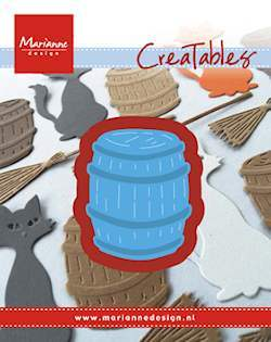 Marianne Design - Die - CreaTables - Barrel - LR0434