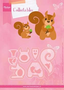 Marianne Design - Die - Collectables - Eline`s Squirrel - COL1410