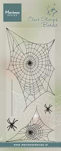Marianne Design - Tiny`s - Clearstamp - Tiny`s border Spiderweb - TC0841
