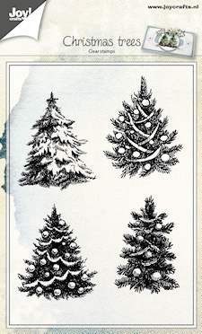 Joy! crafts - Clearstamp - Christmas Trees - 6410/0419