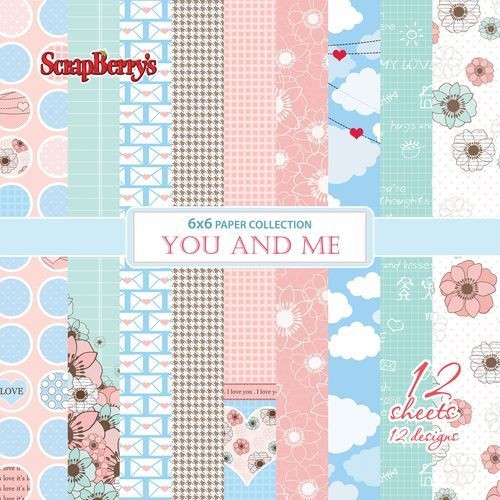 ScrapBerry`s - Paperpack - You and Me - SCB220606210