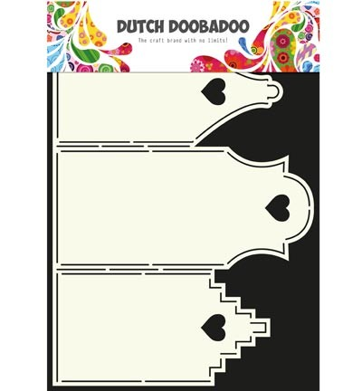 Dutch Doobadoo - Card Art - Houses - 470.713.311
