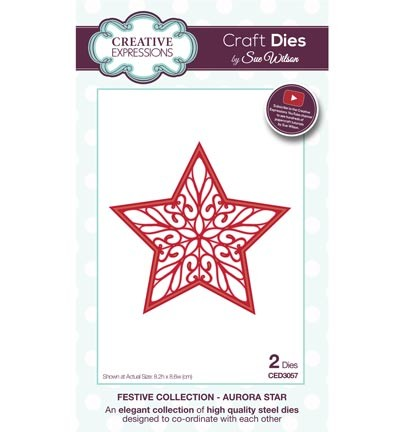 Creative Expressions - Die - The Festive Collection - Aurora Star