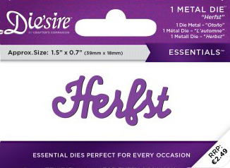 Die`Sire - Die - Essentials - Only Words - Herfst - DS-E-W-46-NL