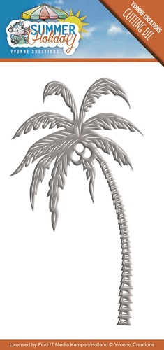 Card Deco - Yvonne Creations - Die - Summer Holiday - Palm Tree