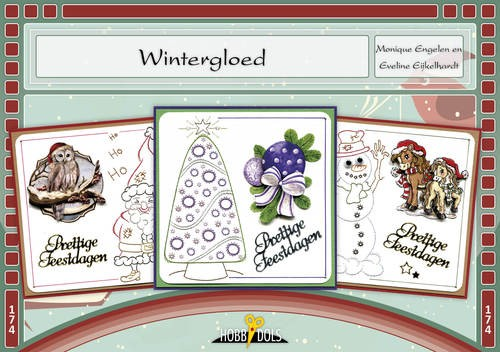 Card Deco - Hobbydols - No. 174 - Wintergloed