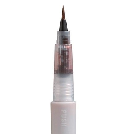 ORANGE Zig Memory System Wink Of Stella Brush Glitter Marker