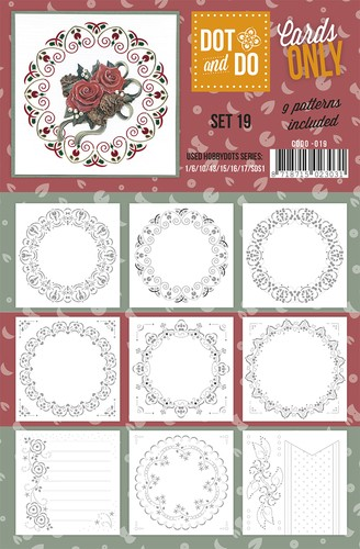 Card Deco - Oplegkaarten - Dot & Do - Cards Only - Set 19 - CODO019