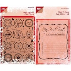 Joy! crafts - Kaartenpakket - Create & Celebrate - Clearstamps - Christmas - 6100/0256