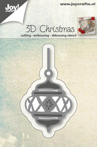 Joy! crafts - Die - 3D Christmas - Kerstbal