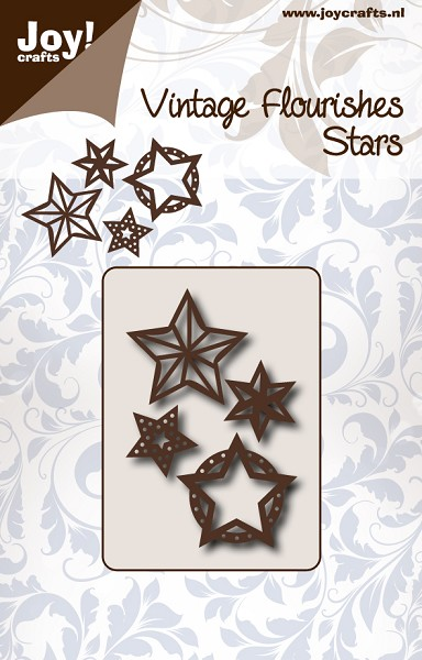 Joy! crafts - Noor! Design - Die - Vintage Flourishes - Stars