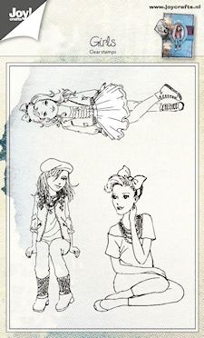 Joy! crafts - Clearstamp - Girls - 6410/0417