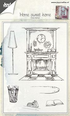 Joy! crafts - Clearstamp - Home Sweet Home - 6410/0422