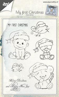 Joy! crafts - Clearstamp - My first Christmas - 6410/0434