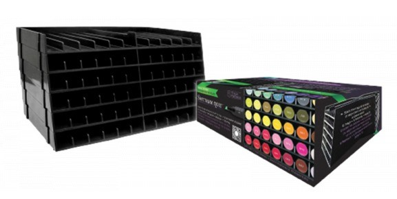 Spectrum Noir - Marker Storage Trays: Zwart