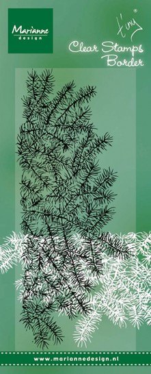 Marianne Design - Tiny`s - Clearstamp - Pine Tree Branches - TC0842