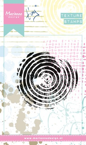 Marianne Design - Tiny`s - Clearstamp - Texture - Circles - MM1606