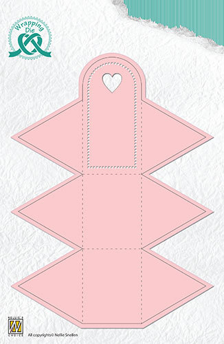 Nellie Snellen - Wrapping Die - Box-4 - Triangle box