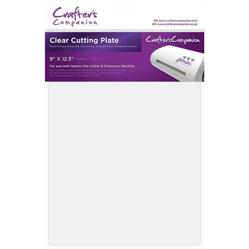 Crafters Companion - Gemini - Clear Cutting Plate