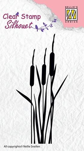 Nellie Snellen - Clearstamp - Silhouet - Bulrushes - SIL002