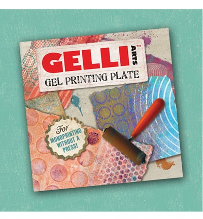 "Gelli Arts - Mixed Media - Gel Printing Plates - Vierkant - 6"" x 6""inch"