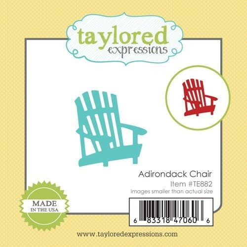 Taylored Expressions - Die - Adirondack Chair