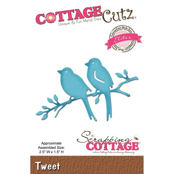Cottage Cutz - Die - Tweet - CCE419