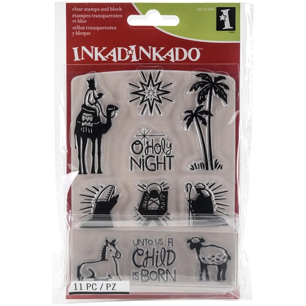 Inkadinkado - Clearstamp - Nativity - 60-31304