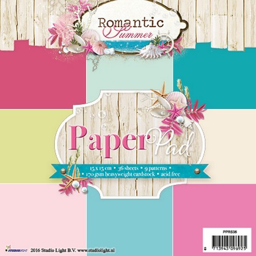 Studio Light - Paperpack - Nr. 36 - Romantic Summer - PPRS36