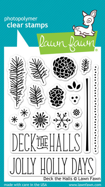 Lawn Fawn - Clearstamps - Deck the Halls - LF721
