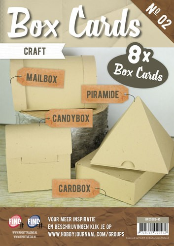 Card Deco - Box Cards 2: Craft - BXCS002-45