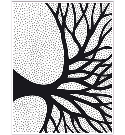 Creative Expressions - PinPoint Embossingfolder - Silhouette Tree - EFPP-008