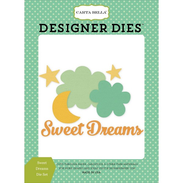 Carta Bella - Die - Cutting - Sweet Dreams - CBIB50041