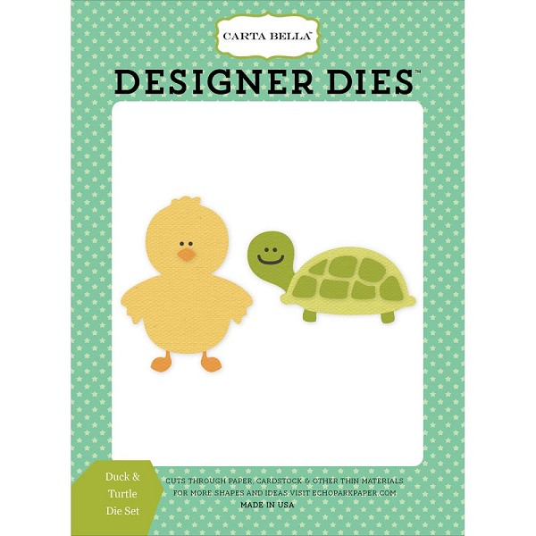 Carta Bella - Die - Cutting - Duck & Turtle - CBIB50042