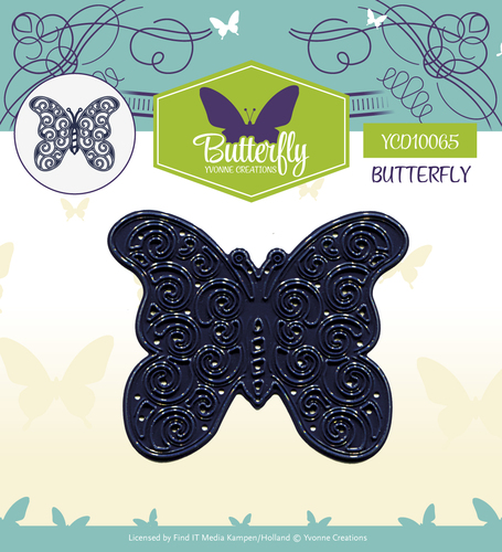 Card Deco - Yvonne Creations - Die - Butterfly - Butterfly