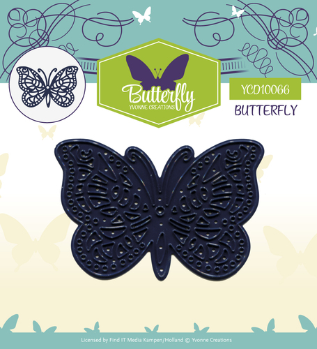 Yvonne Creations - Die - Butterfly - Butterfly
