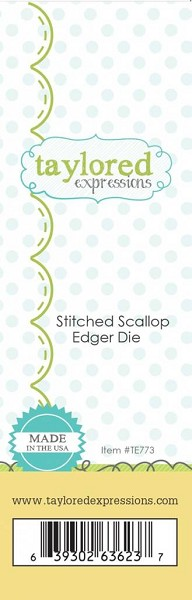 Taylored Expressions - Die - Stitched Scallop Edger Die