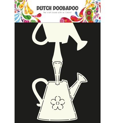 Dutch Doobadoo - Card Art - Watering can - 470.713.614