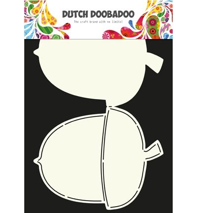 Dutch Doobadoo - Card Art - Acorn - 470.713.590
