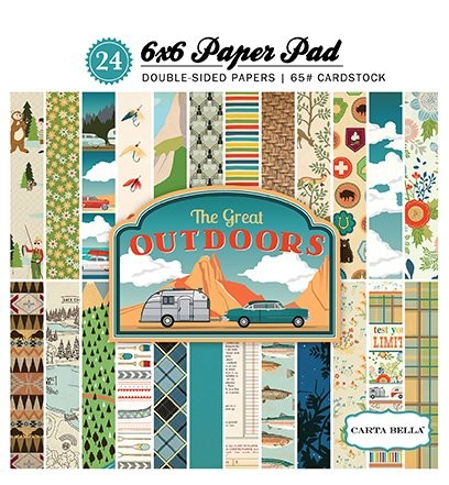 Carta Bella - Paperpack - The Great Outdoors - CBG055015
