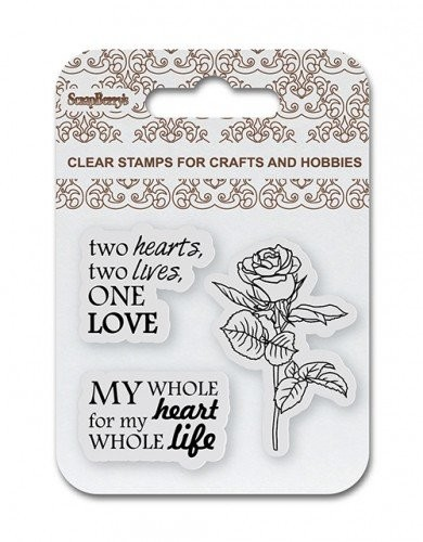 ScrapBerry`s - Clearstamp - One Love - SCB4907081