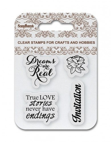 ScrapBerry`s - Clearstamp - Invitation - SCB4907086