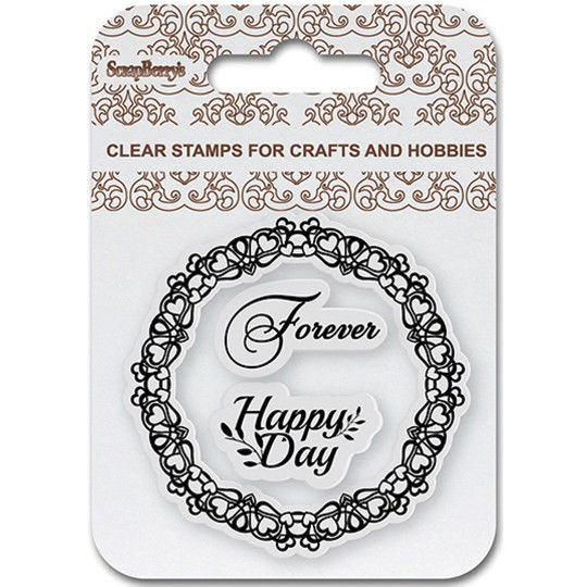 ScrapBerry`s - Clearstamp - Happy Day - SCB4907084